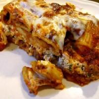 cheesy baked pasta