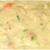 http://ahensnest.com/2009/09/quick-and-easy-savory-potato-soup.html