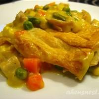 quick chicken pot pie recipe