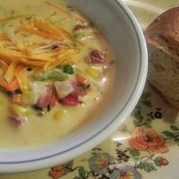 ham veggie soup