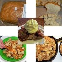 whole wheat bread pudding