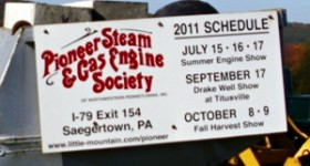 pioneer steam and gas engine society