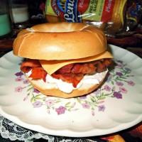 bacon bagel