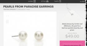 free pearl earrings from sneekpeaq