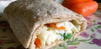 fresh egg white wrap