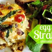 egg strata recipe
