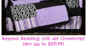 Beyond Bedding crib set giveaway