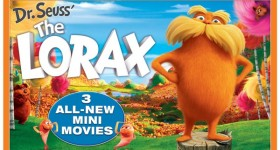 The Lorax Blu-ray Box Art 2012