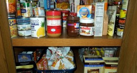 our pantry cupboard