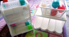 prk products baby bottle and food organizers