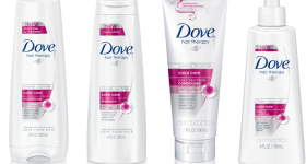 Dove hair care products