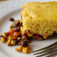 sweet spicy cornbread casserole