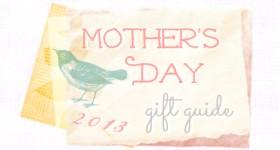 mom day gift guide banner 2013