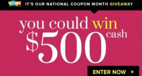 win 500 cash sweeps