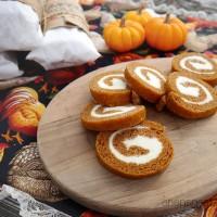 cream cheese pumpkin roll recipe