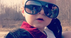 cool sunglasses grandbaby