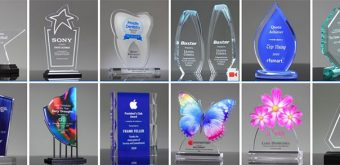 acrylic awards trophies